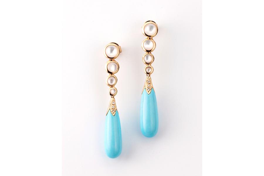 Blue jewelry No.05