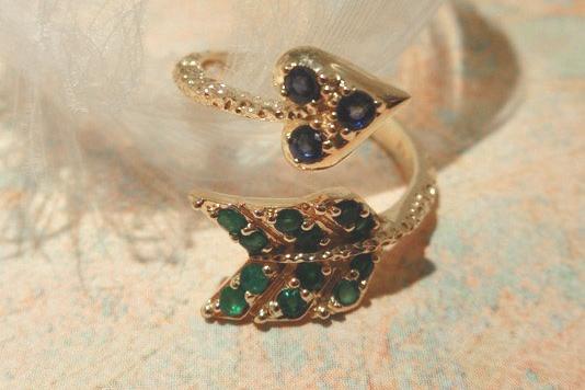 Blue jewelry No.06