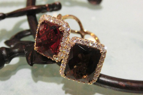 Red・Brown・Black jewelry No.08