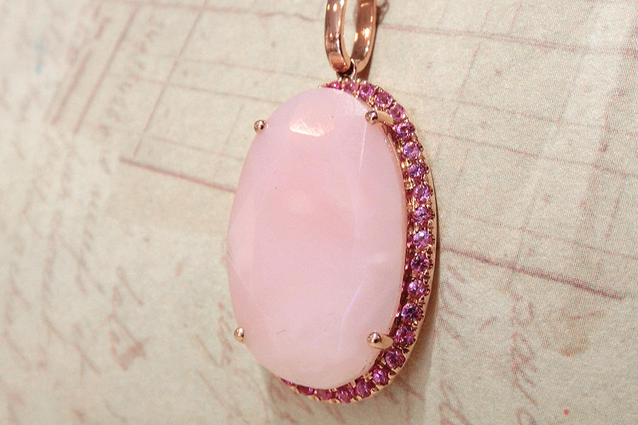 Pink・Green jewelry No.06