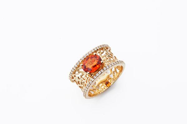 Orange jewelry No.01