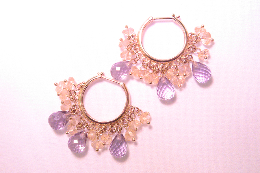 Purple jewelry No.05