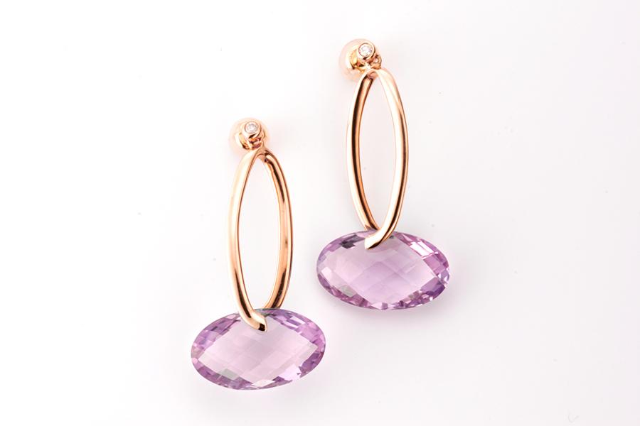 Purple jewelry No.08
